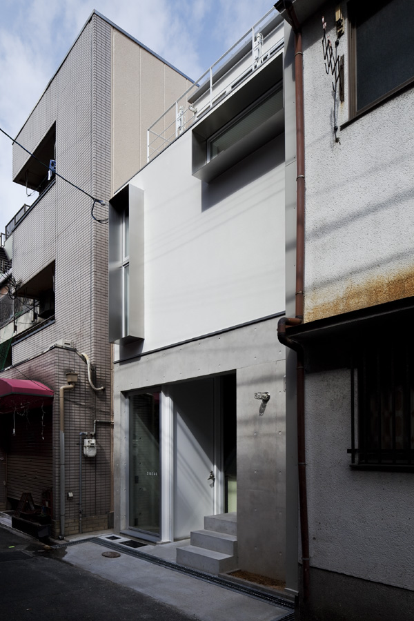 Casa a de takeshi hamada arquitectura y dise o los for Arquitectura y diseno de casas