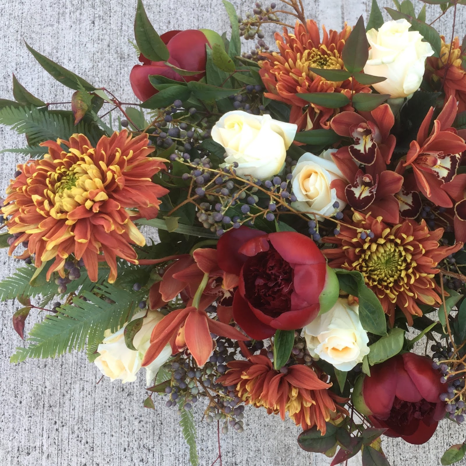 Sammy S Flowers Fall Season Centerpieces