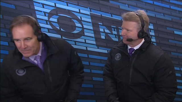 phil simms farted on jim nantz