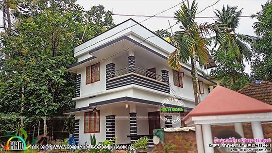 1500 sq-ft house in 3 cents of land