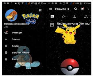 BBM MOD Pokemon GO v3.0.0.18 Apk Agustus 2016