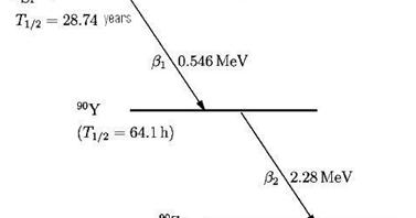 Conceptual Physics: Decay Level Scheme of Sr-90