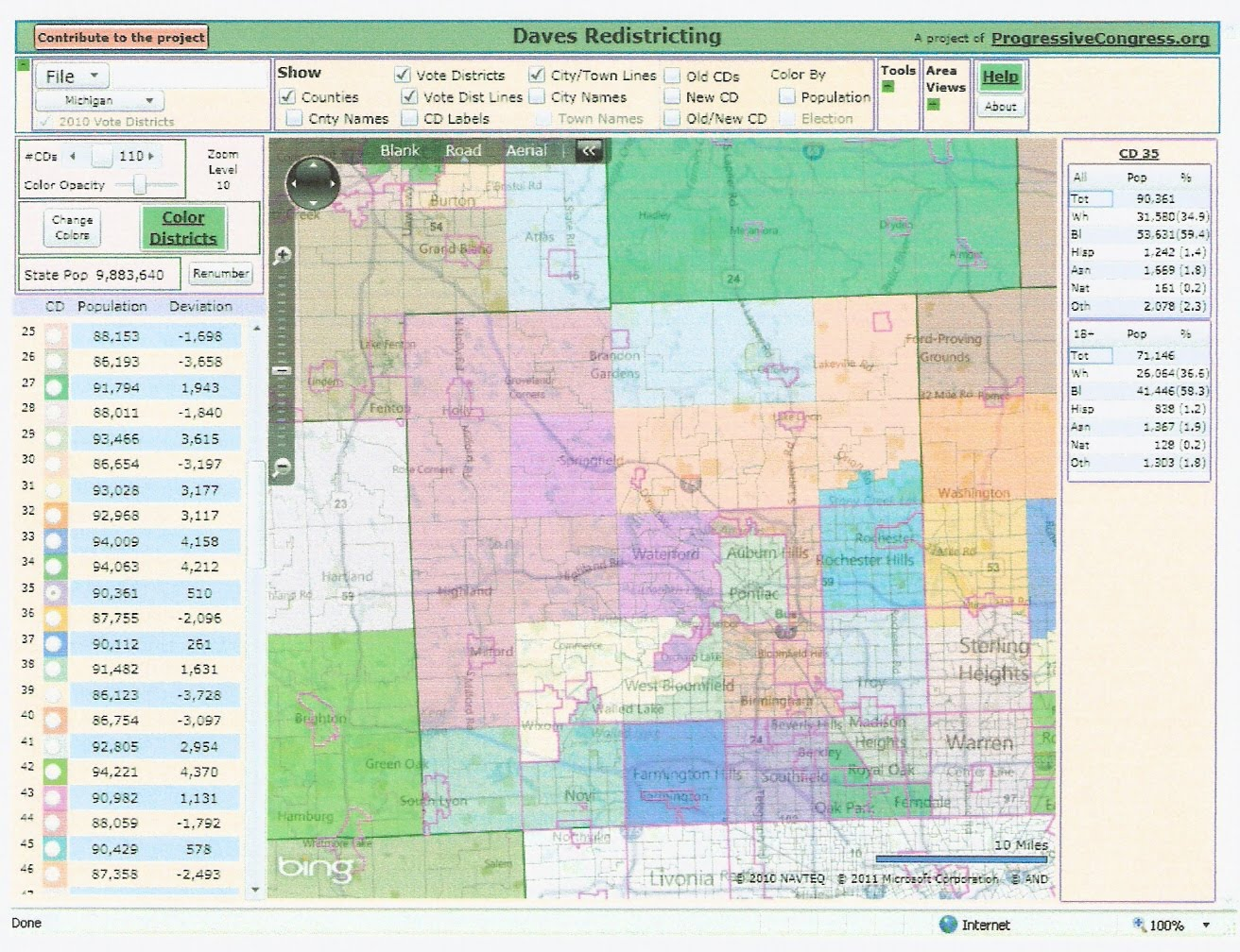 The Western Right Michigan Redistricting State House Part Ii