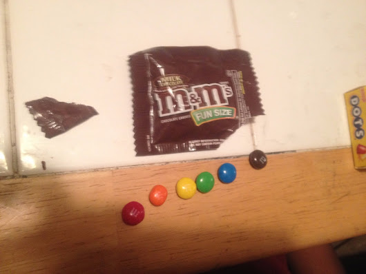 30 seconds inside my son's autistic mind: Rainbow M&M's