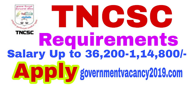 TNCSC Recruitment 2019  Asst ManagerShift Engineer  17 Posts  Last Date 28 February 2019  Gov Job 2019 governmentvacancy2019.com