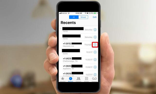 Begini Cara Blokir Nomor Telepon di iPhone + Gambar