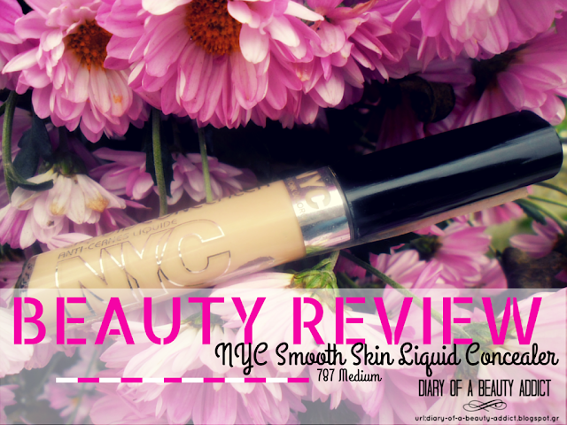 NYC Smooth Skin Liquid Concealer-787 Medium : Review