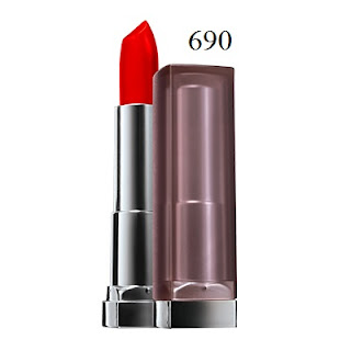 Son môi Maybelline Color Sensational Creamy Matte Lipcolor 690 Siren in Scarlet - SM018