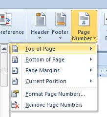 Cara Membuat Penomoran Halaman Berbeda di Microsoft Word 2010