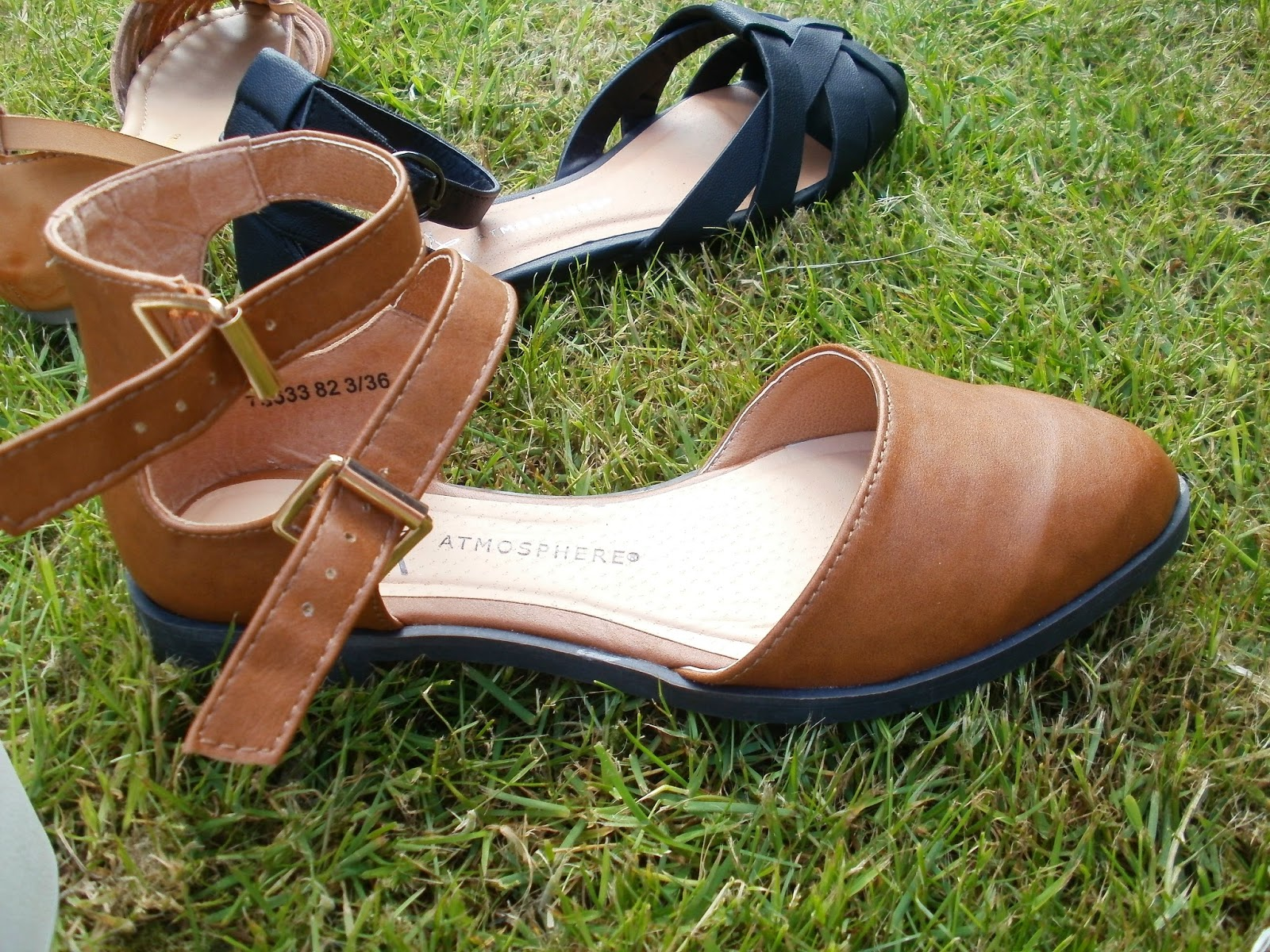 141388334623a I love the femininity of the ever so popular ankle strap as well! These  sandals are such a great price