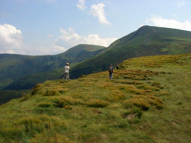 Горы Украины. Путь на гору Близница