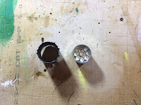 LED module removed