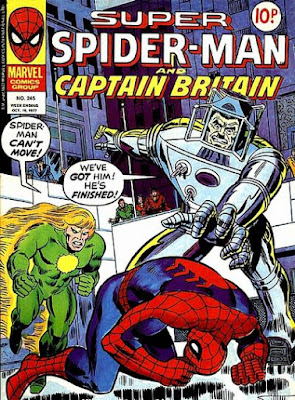 Super Spider-Man and Captain Britain #245, Spider-Slayer and Will o the Wisp