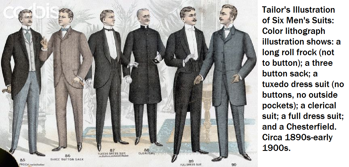 late victorian fashion men - photo #39