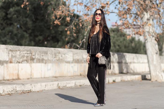 Blogger influencer de moda belleza embarazada con ideas para vestir pre mama