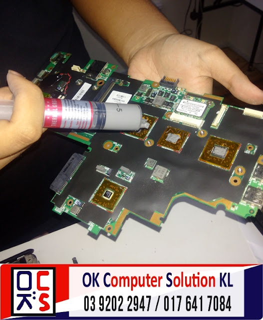 [SOLVED] SERVIS LAPTOP HP PAVILION DV2 | REPAIR LAPTOP CHERAS 8