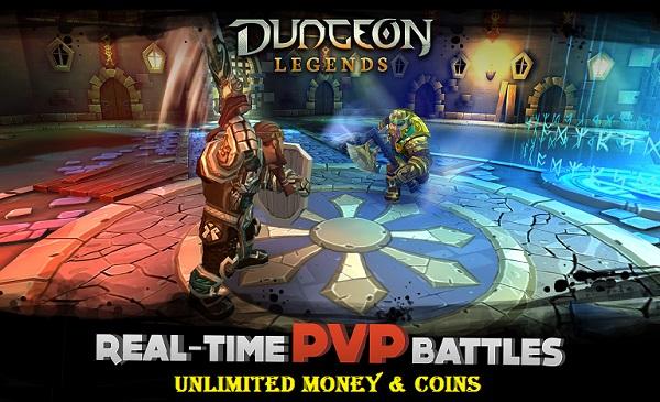 Download Dungeon Legends MOD APK Unlimited Money Coins Gems