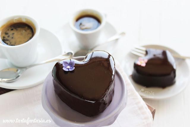 Cobertura Espejo de Chocolate
