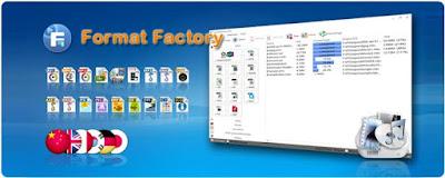 تحميل البرنامج الشهير Format Factory V4.1.0.0 آخر إصدار