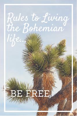 Be Free Be Bohemian