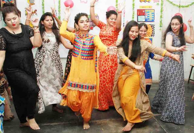 Fairwale Party at Savitri Polytechnic faridabad