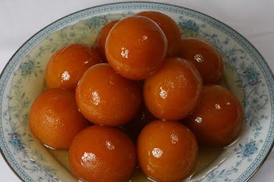 gulabjamun, sweet dish