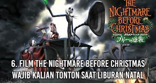 Film The Nightmare Before Christmas wajib kalian tonton saat Liburan Natal