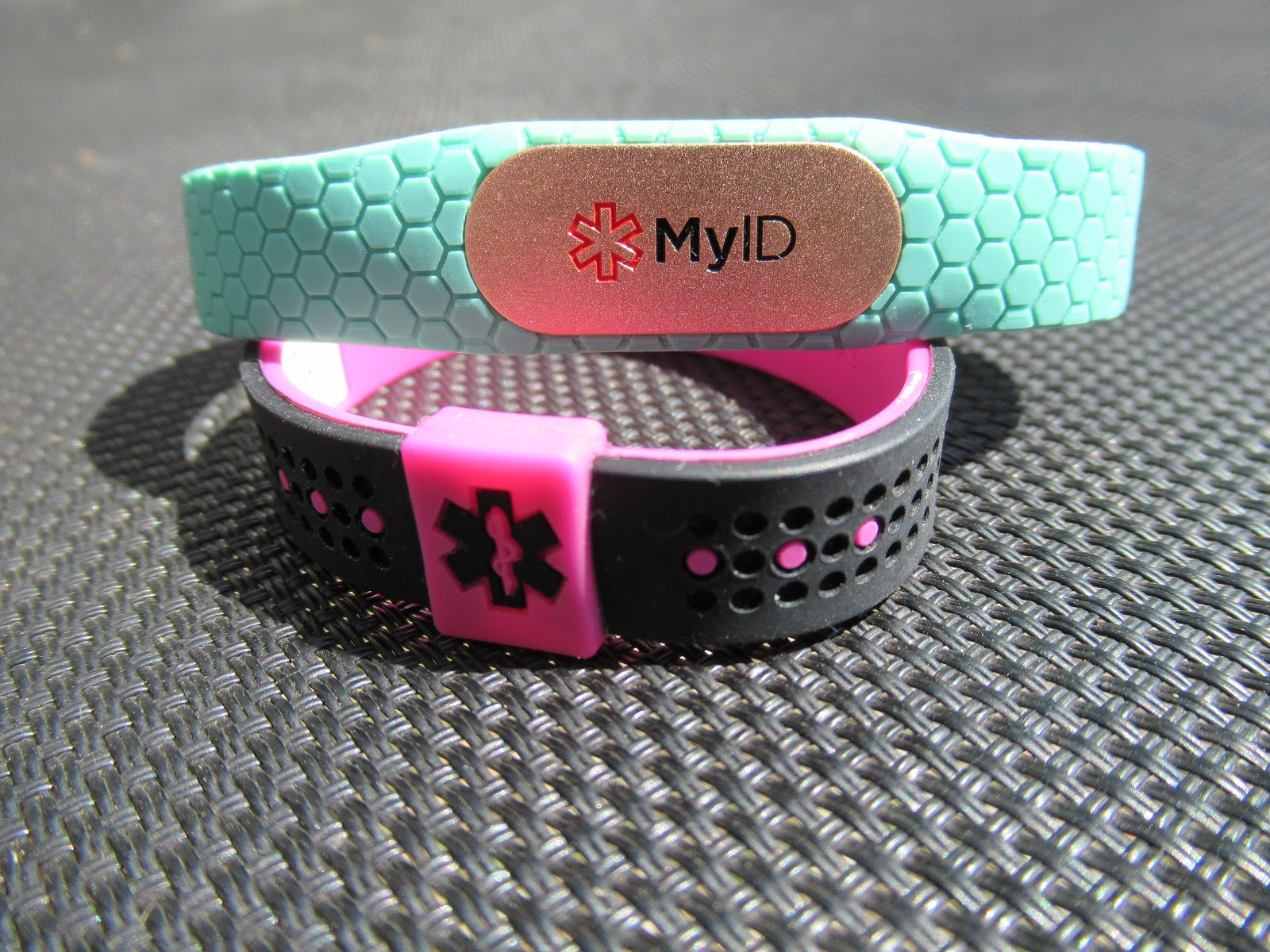 So Myid Sent Us Three Diffe Products A Sport Medical Id Bracelet In Small For Miss Tator Who Has Fpies Md Hive That I Ll