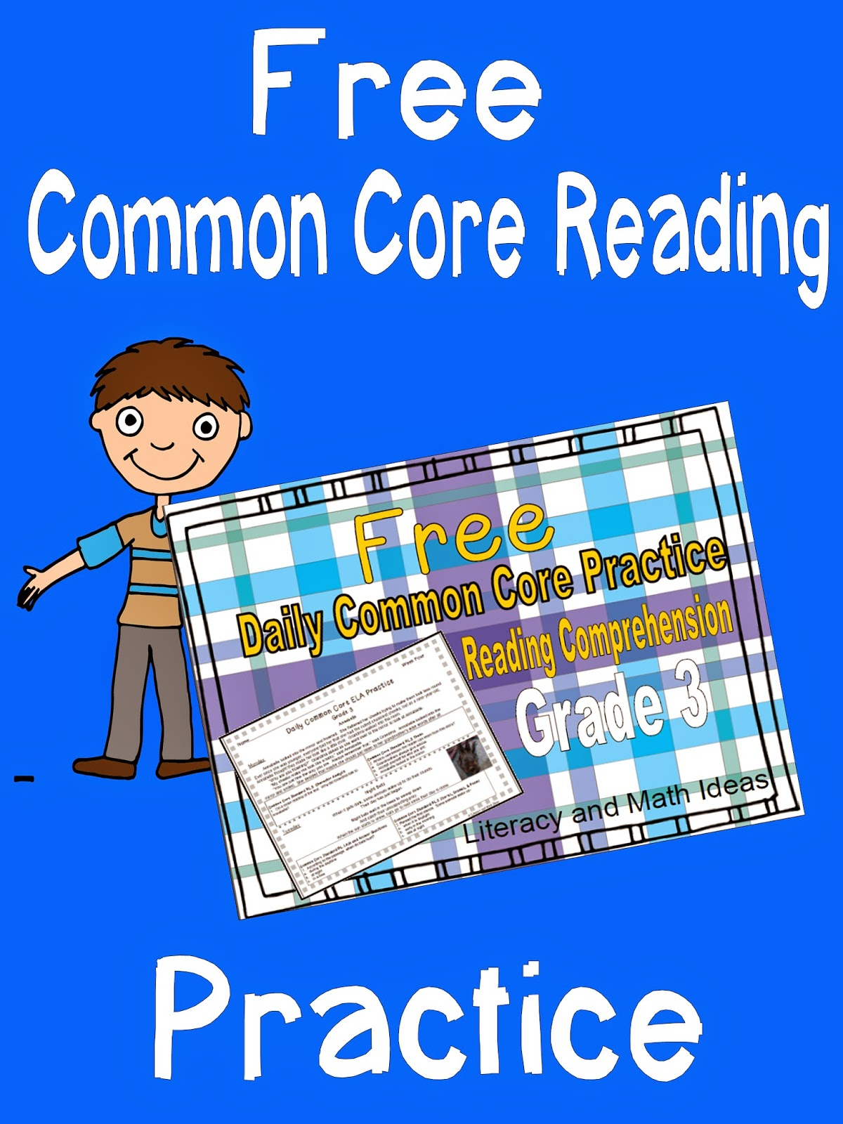 Literacy Amp Math Ideas Free Grade 3 Daily Common Core