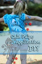 DIY Cala Pulpo Applikation bei Lila-Lotta