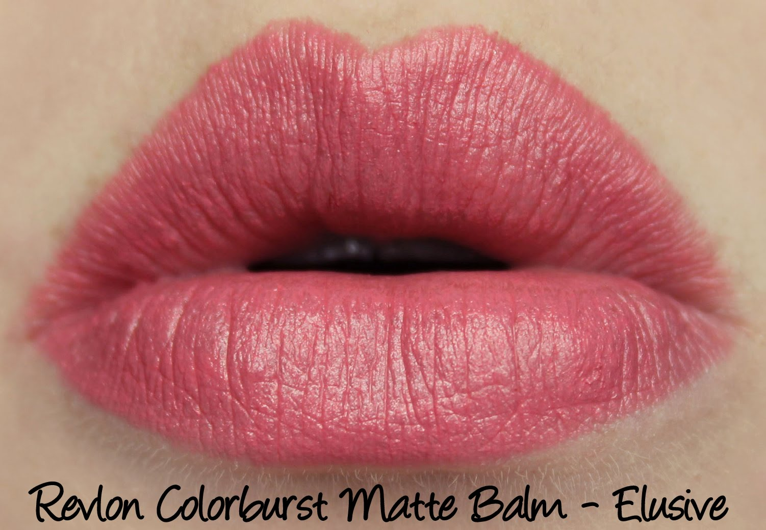 Revlon Colorburst Matte Balm - Elusive Swatches & Review