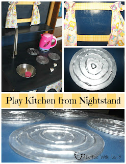kids' kitchen from a nightstand