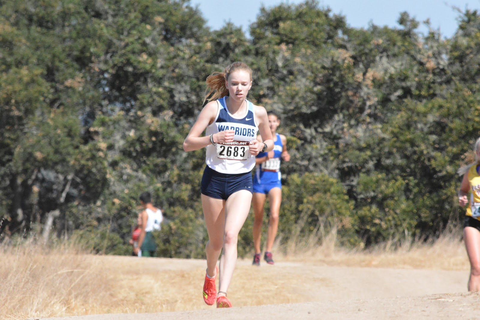 b644a3c762897 Maylene Aguilar continues to be on a steady improvement trajectory running  22 39 in the junior girls race. She ran the third fastest time for the  Warriors ...
