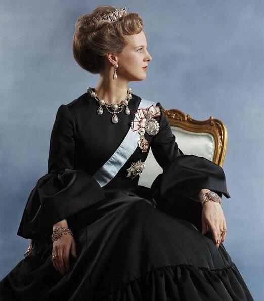 Photographers Rigmor Mydtskov and Per Morten Abrahamsen. 80th birthday of Queen Margrethe, diamond tiara