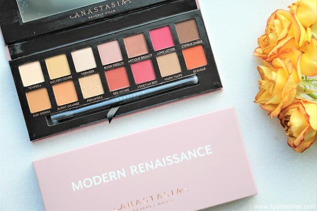 Anastasia Beverly Hills Modern Renaissance eyeshadow palette dupe