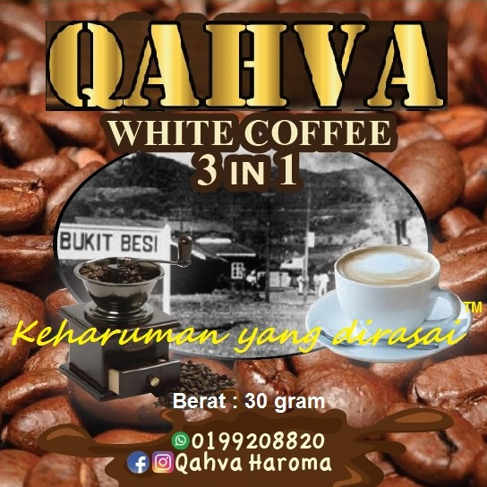 QAHVA White Coffee 3 IN 1