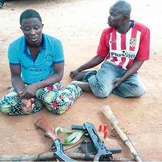 Face Of Pastor Who Leads Church Members In A Notorious Armed Robbery Gang, Stockpiles Guns In Church