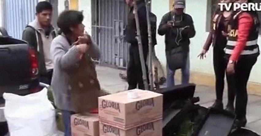 Autoridades incautan en panadería 500 tarros de leche pertenecientes al «Programa social del Vaso de Leche»