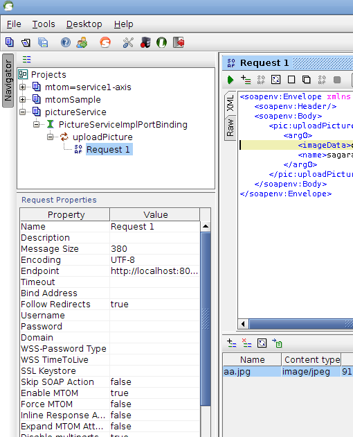 Test Axis2 JAX-WS MTOM service using SoapUI   sagara's Blog