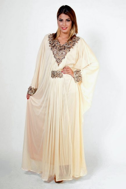 Best Designs of Colorful Abayas