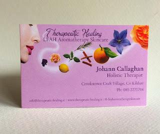 Johann Callaghan Business Card