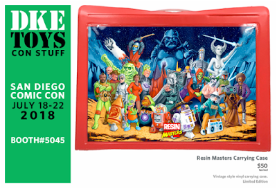 San Diego Comic-Con 2018 Exclusive Resin Masters Carrying Case by DKE Toys