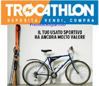 Logo ''Trocathlon'': Decathlon vende il tuo usato e tu ricevi buoni spesa