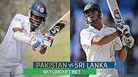 Sri Lanka tour of Pakistan Test Series
