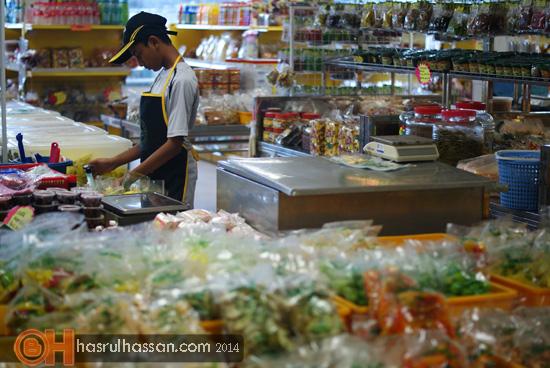 Agro bazaar jeruk madu pak ali, simpang ampat