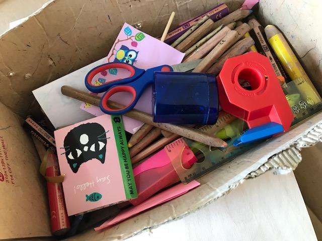 Ordnung im Kinderzimmer - Stiftebox