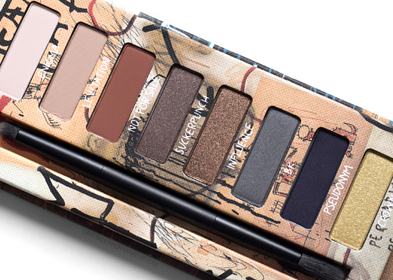 UD Basquiat Urban Decay Review Gold Griot Eyeshadow Palette