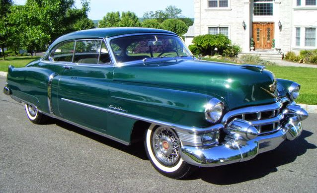 Car Style Critic  1954 Cadillac  One of the Better Looking Ones 1953 Cadillac   used car sales photo  This is to put the 1954 models into  the context of their time  The  53 design originated for the 1950 model  year and