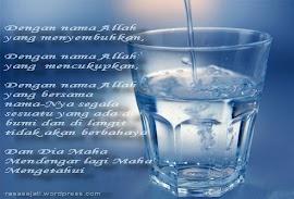 Mengapa Air Putih Yang di Doakan Bisa Menyembuhkan Orang Sakit ?