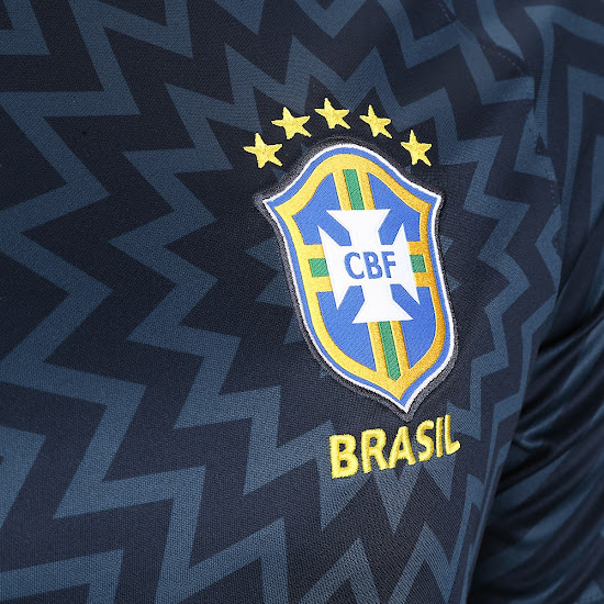 ... wiith white applications and a unique star-inspired zig-zag all-over  graphic print. It is a design that many would have like to see used for  Brazil s ... 4d43dcce2fa34